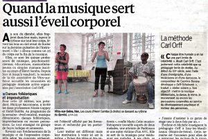 Journal Le Parisien - 9 juillet 2013
