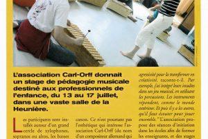 Journal Le Mensuel - Septembre 2006