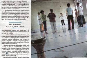 Journal Le Parisien - 2 août 2005
