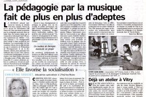 Journal Le Parisien - 22 mai 2004