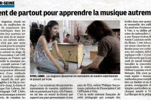 Journal Le Parisien - 16 juillet 2010